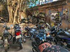 Motorcycle Graveyard (shapeshift) Tags: in davidpham davidphamsf dilapidated documentary graveyard india iphone iphonephoto iphonephotography iphonex iphonexphoto iphonexphotography jodhpur motorcycle motorcycles parkingpoetry rajasthan rundown scooter shapeshift shapeshiftnet southasia street streetphotography transport transportation travel
