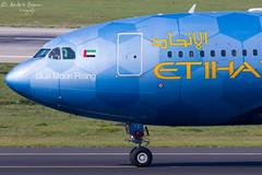 Etihad Airways (ab-planepictures) Tags: etihad airways airbus a330 dus eddl düsseldorf flugzeug flughafen plane aircraft airport aviation planespotting blue moon rising