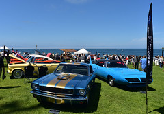 Muscle Cars (D70) Tags: lajolla concoursdelegance 2018 village sandiego california usa 1966 shelby mustang muscle cars studebaker lark plymouth road runner superbird roadrunner cuvierpark
