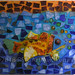 """""""Under the Sea"""" by Dore, mosaic, $150.00"""