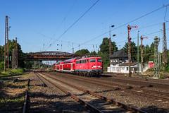 DB 115 448 - Düsseldorf Rath (Pau Sommerfeld Acebrón) Tags: