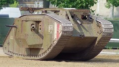 1914-1918 - Mark IV du Tank Museum de Bovington (3) (Breizh56) Tags: france saumur carrouseldesaumur2018 pentax 19141918