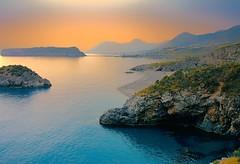 ** (* landscape photographer *) Tags: island isoladidino praiaamare cosenza calabria seascape sunset nature rock sea mediterraneo martirreno italy europe world picture perfect click work nikon 2018 flickr
