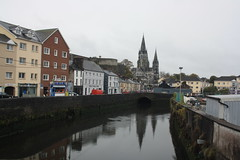 Saint Finn Barre's Cathedral (lazy south's travels) Tags: cork ireland irish cathedral christianity city center centre river lee building architecture water reflecting reflection