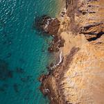 Aerial photo of Lanzarote coast / Luftaufnahme der Küste von Lanzarote thumbnail