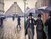 Street Scene, Rainy Day (Caillebotte) (Bill in DC) Tags: chicago il illinois 2018 art artinstituteofchicago aic caillebotte