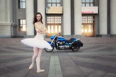 *** (andreylarionov) Tags: ballerina ballet girl portrait street dancer russia bike beauty andreylarionov