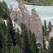 Banff NP, Hoodoos in Bow Valley