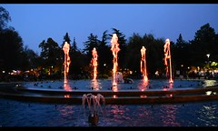 Margaret Island Fountain (misi212) Tags: second waltz music fountain night video
