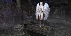 Angel of Souls (Jiggy Stardust) Tags: jiggystardust angel souls graveyard casket dead cemetery grave midnight