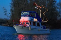 Wooden Shoe-6394 (Christmas Ships Parade) Tags: 2017 christmasshipsparade columbiariver december holiday portlandoregon ships willametteriver boat captain captains lights tradition portland oregon usa
