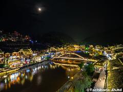 P8310204-HDR (et_dslr_photo) Tags: nightview night nightshot countryside river riverside fenghuangucheng hunang
