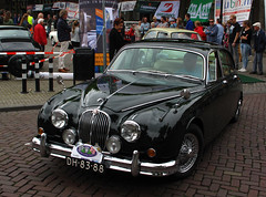 1963 Jaguar Mark 2 3.8 Automatic (rvandermaar) Tags: 1963 jaguar mark 2 38 automatic jaguarmark2 mark2 sidecode1 import dh8388 rvdm