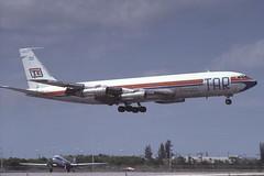 LV-MSG Miami 3-4-1982 (Plane Buddy) Tags: lvmsg boeing 707 tar cargo rioplatense miami mia