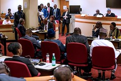 President Buhari participates at a High Level Dialogue on the Fight Against Corruption by the African Union on 26th Sep 2018