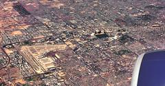 Las Vegas from 40,000 feet