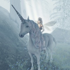 Impulsive Spirit's Pressed Fairy Collection # 17 (impulsive.spirit) Tags: slavatar sl unicorn fay fairy secondlife