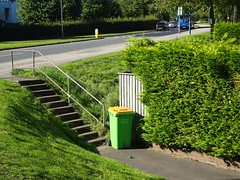 Andigestion Wheeled Refuse Bin, Maendy Way, Cwmbran 27 September 2018 (Cold War Warrior) Tags: andigestion bin refuse cwmbran