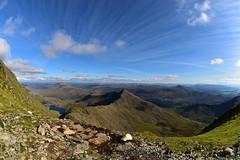 Snowdonia again (Pixelkids) Tags: wales snowdonia landschaft breathtaking breathtakinglandscape himmel wolken lake bergsee