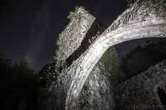 Arch (#Weybridge Photographer) Tags: adobe lightroom canon eos dslr slr 5d mk ii mkii night dark church abandoned decay decaying urbex arch sky stars