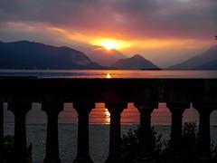 lago maggiore (alain01789) Tags: sunset dusk seascape landscape lake lac majeur major italy