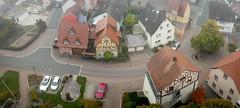 Blick vom Kirchturm Königshofen