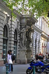 L1004822 (Inspired Snob) Tags: budapest andrassy utca courtyard facade detail doorway streetlife
