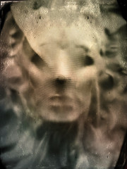 Siren Song (drei88) Tags: halloween siren spirit haunted apparition gazing vacant shroud forlorn faded distressed angel dark shadow fleeting instinct imagination childhood bleak dreary terror residual mask atmosphere energy charged searching life death greekmythology anthemusa female femaleform guise guile