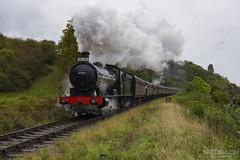 63395 Bridge 10 (Yardbrush) Tags: svr severnvalleyrailway severnvalley asg autumnsteamgala steam trains travel passenger railways rail