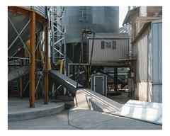 mille quatre cents hectares (Mériol Lehmann) Tags: silos farm farming cereals rural landscape