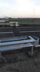 DSCN8836 (DutchRoadMovies) Tags: stevinsluizen afsluitdijk den oever a7 rijksweg ijsselmeer waddenzee bridge lake freeway motorway water sea locks