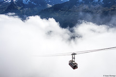 Descent from Brevent (isaac.borrego) Tags: france chamonix alps frenchalps europe