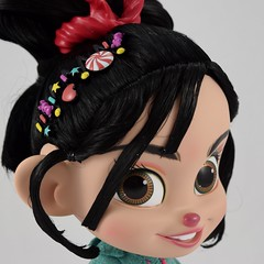 2018 Vanellope Talking Action Figure - Ralph Breaks the Internet - Disney Store Purchase - Deboxed - Free Standing - Closeup Left Front View (drj1828) Tags: wreckitralph2 ralphbreakstheinternet 2018 merchandise disneystore purchase productinformation vanellopevonschweetz talking doll actionfigure deboxed freestanding