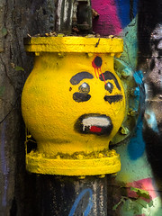 Kool-Aid valve (cizauskas) Tags: koolaid graffiti valve ruins waterworks park dekalb georgia industrial decatur