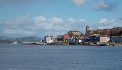 Gourock (Rourkeor) Tags: firthofclyde gourock mzuikodigitaled12‑100mm140ispro m43 omdem1markii olympus scotland uk autumn boat ferry scenic sea town