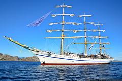 DSC_7737 (yuhansson) Tags: фрегат херсонес море чёрное парусник крым паруса парус корабли корабль путешествие путешествия югансон юрий boat sea sky water vessel ship sailing новыйсвет судак