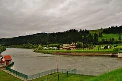 2014-08-14 Niedzica - zapora i  jezioro Czorsztyńskie (5) (aknad0) Tags: niedzica jezioroczorsztyńskie krajobraz zapora jeziora zalew