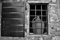 From the outside (wilma HW61) Tags: raam window fenster venster tralies bars fenêtre raamluiken shutter windowshutter otturatoredellafinestra voletdefenêtre kruik jar fles bottle bottlebasket stones brick hww bw monochrome blackandwhite zwartwit dalmacija dalmatië dalmatia kroatië croatia croazia hrvatska outdoor nikond90 wilmahw61 wilmawesterhoud europa europe