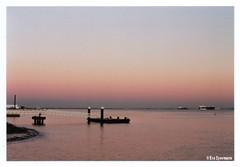 Lisbon (Eva Eysermans) Tags: analog anolgue lisbon portugal film 35mm pentax sunset water travel