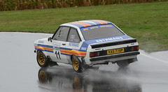 Ford Escort Mark II (rallysprott) Tags: sprott wdcc rallysprott 2018 rallyday castle combe rally rallying motor sport car nikon d7100 wet rain ford escort mark 2 ii