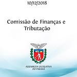 Comissão de Finanças e Tributação 10/12/2018