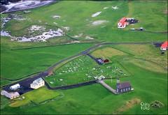 Hvalsneskirkja from IcelandAir (ChipRossMaine) Tags: hvalsneskirkja iceland church icelandicchurch aerial icelandair canoneosrebelt6i canoneos750d rebelt6i eos750d chipsfolio hvalsnes