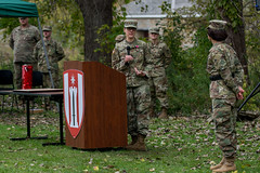 181013-A-PC761-1059 (416thTEC) Tags: 372nd 372ndenbde 397th 397thenbn 416th 416thtec 863rd 863rdenbn army armyreserve engineers fortsnelling hhc mgschanely minneapolis minnesota soldier usarmyreserve usarc battalion brigde command commander commanding historic