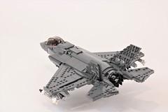 F-35 B 'Lightning II' (Corvin Stichert) Tags: lego military plane jet aircraft lightning stovl jsf f35 f35b lockheed martin