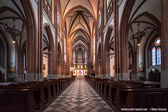 Warsaw, Poland-March 20, 2018: Interior of Cathedral of St. Michael the Archangel and St. Florian the Martyr, in the Praga District of Warsaw (Nikos Stamos photography) Tags: poland archangel architecture attraction attractions beautiful building capital cathedral catholic catholicism christian church city classic color colorful culture decoration destination dome editorial europe european famous florian gothic historic history holiday inside interior landscape martyr michael monument old park polish polska praga religion religious roman saint scenery sights sightseeing st tourism travel vintage warsaw warszawa worship