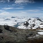 Utsikt fra Synshorn. Bygdin. Mai 2014 thumbnail
