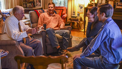 Otis Morgan descendants visit Ben Skardon (clemsonnews) Tags: wwii pow clemson otismorgan benskardon generations veterans clemsonfamily clemsonuniversity kenscar bataandeathmarch greatestgeneration