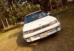 Corolla EE90 Restored (mohammed_apu) Tags: toyota corolla levin trueno ae91 ae92 bangladesh sylhet white tinted jdm japanese restored project