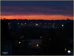 New Westminster Sunrise BC18j01 LG (CanadaGood) Tags: canada bc britishcolumbia newwestminster sunrise canadagood 2018 thisdecade color colour cameraphone morning
