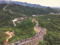 Badaling Great Wall, 八达岭, 北京,中国 (cattan2011) Tags: beijing china 中国 北京 walls mountains mountainscape culture landscapephotography landscape traveltuesday travelphotography travelbloggers travel architecturephotography architecture badginggreatwall 八达岭